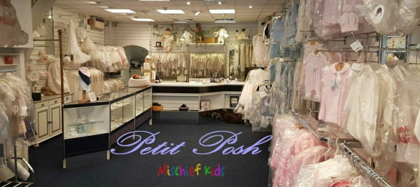 Petit Posh at Mischiefkids Shop interior